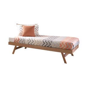 Madrid Natural Wooden Trundle