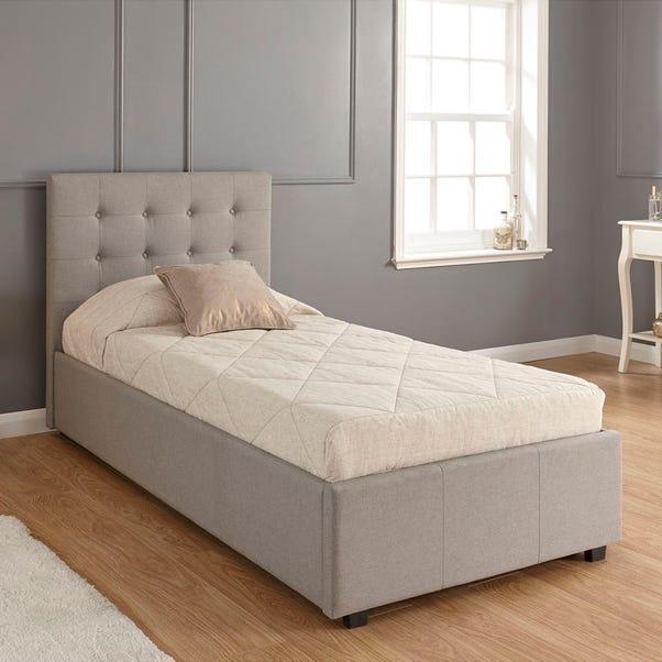 Regal Ottoman Grey Bedstead  undefined