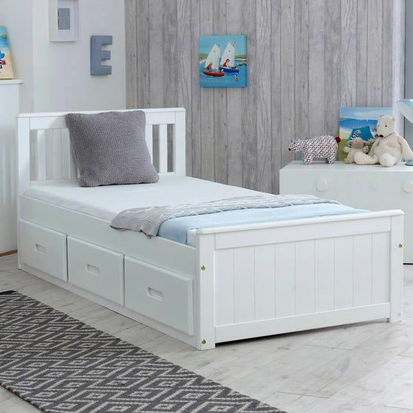 Mission White Storage Bed  undefined
