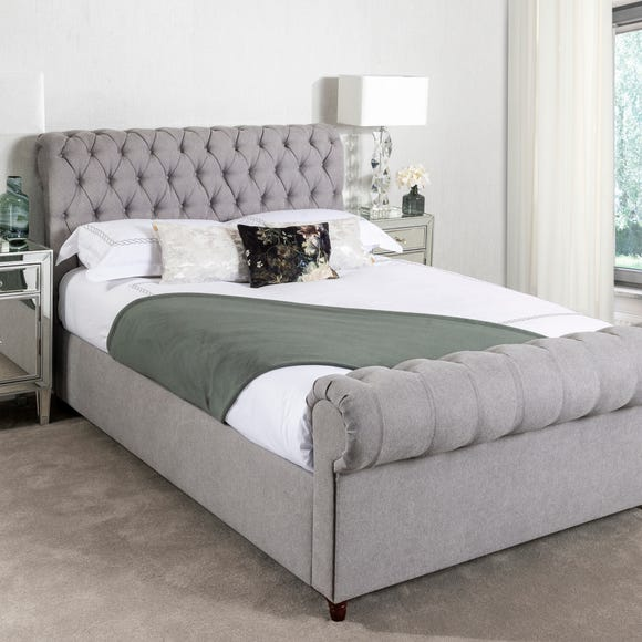 Fabio Woven Grey Bed Frame  undefined