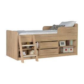 Felix Oak Low Sleeper Bed
