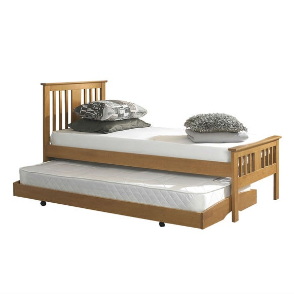 Osorno Oak Guest Bed and Trundle  undefined