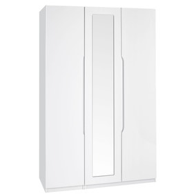 Legato 3 Door Mirrored Wardrobe