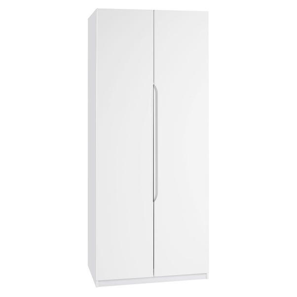 Legato White 2 Door Wardrobe