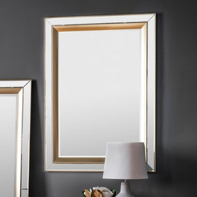 Phantom Gold 110x79cm Wall Mirror