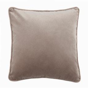 Large Clara Cotton Velvet Cushion