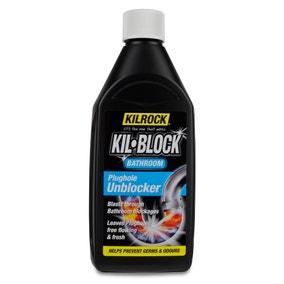 Kilrock Kil-Block Bathroom Plughole Unblocker