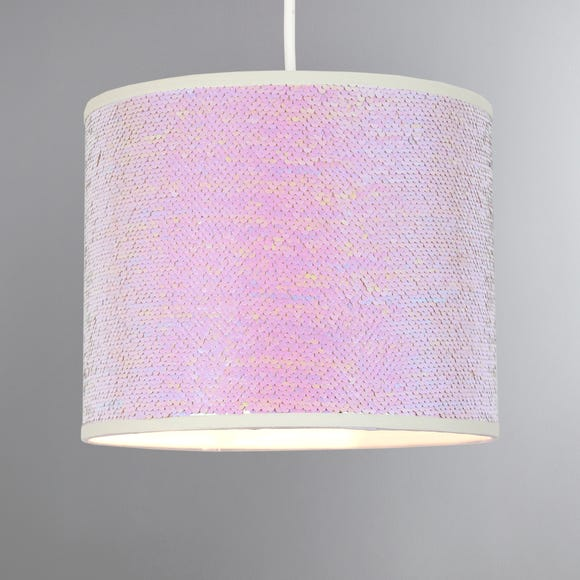 Two Tone Sequin Easy Fit Pendant Shade