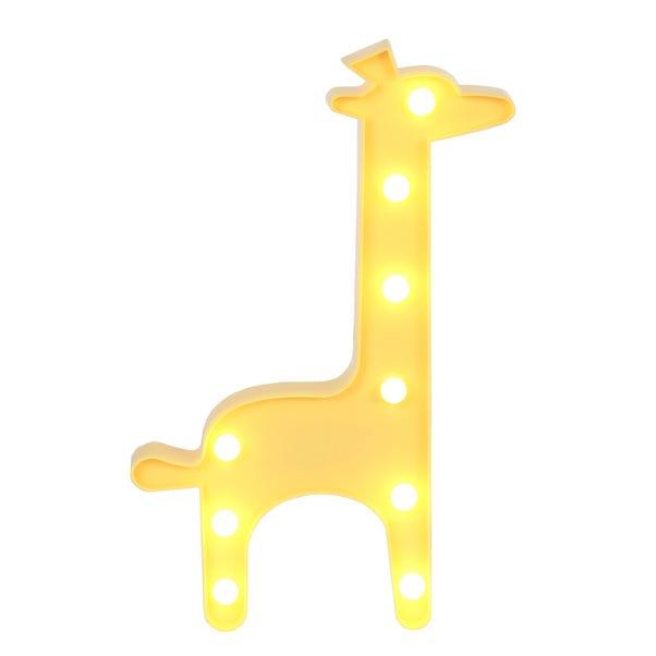 Giraffe LED Light Yellow