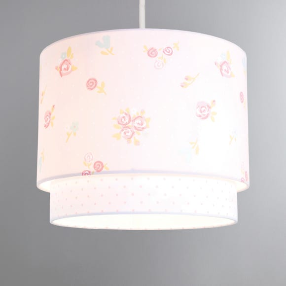 Pretty Little Bunny 2 Tier Ceiling Shade Pink