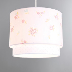 Pretty Little Bunny 2 Tier Ceiling Shade