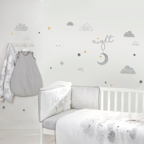Floating Clouds Wall Stickers