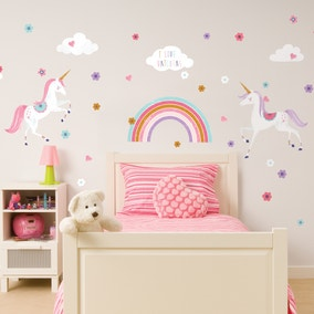 Glitter Unicorn Wall Sticker