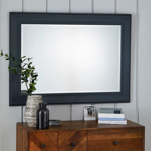 Mantle Wall Mirror 116x86cm Charcoal Charcoal (Grey)