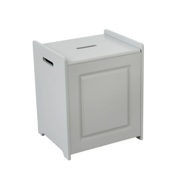 Verona Grey Laundry Hamper