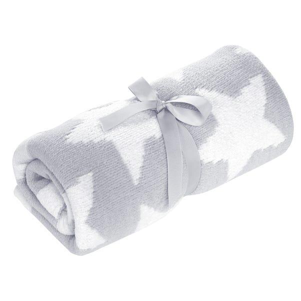 Grey Chenille Blanket Grey