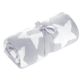 Grey Chenille Blanket