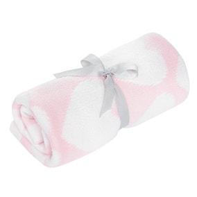 Pink Chenille Blanket