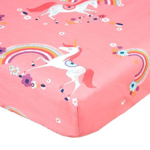 Unicorn Fitted Sheet  undefined