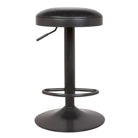 Terni Bar Stool Black PU Leather