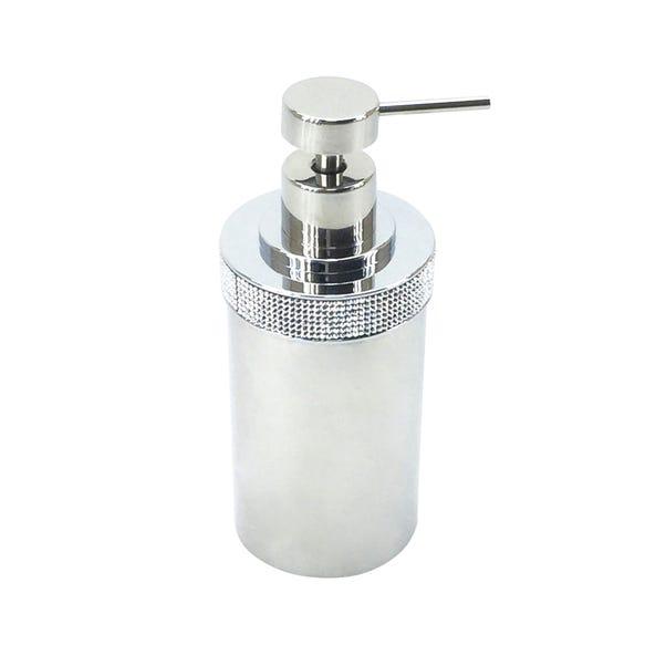 Diamante Lotion Dispenser Chrome