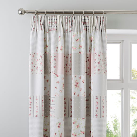 Katy Rabbit Blackout Pencil Pleat Curtains  undefined