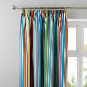 Monkeying Around Blackout Pencil Pleat Curtains