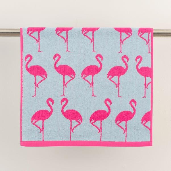 Flamingo Fuchsia Towel  undefined