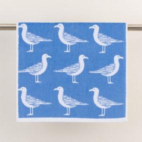 Seagulls Cornflower Towel