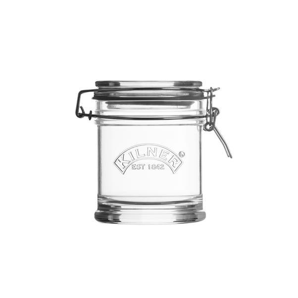 Kilner Signature 450ml Clip Top Jar Clear