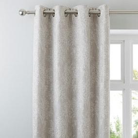 Adrianna Natural Eyelet Curtains
