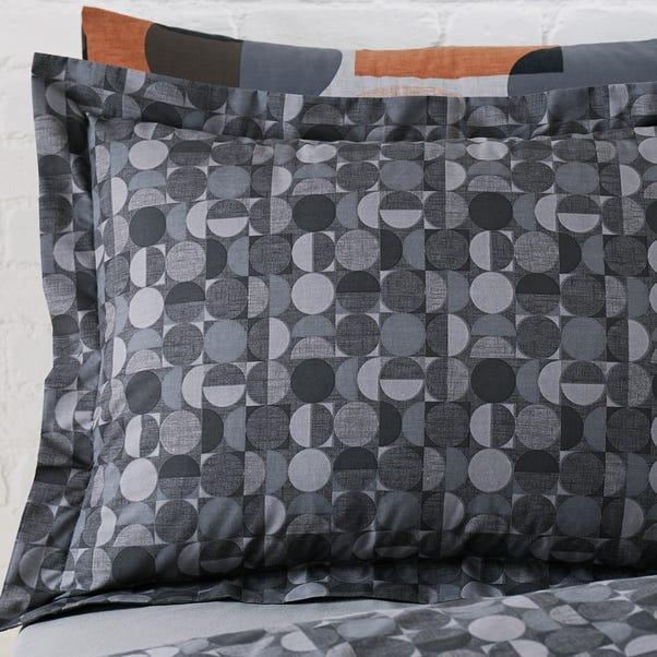 Elements Oscar Oxford Pillowcase Grey