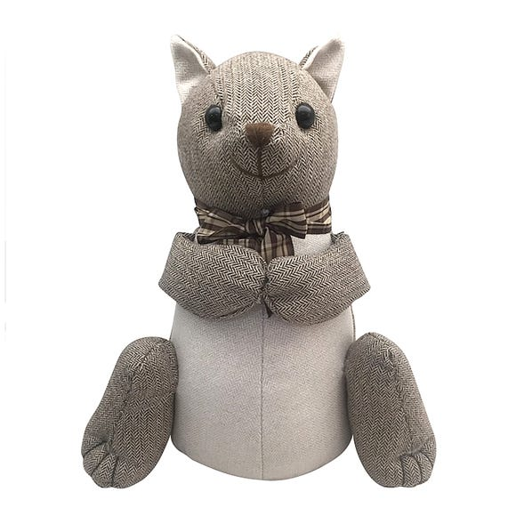 Squirrel Doorstop Brown