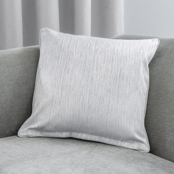 Arden Silver 45cm x 45cm Cushion Silver