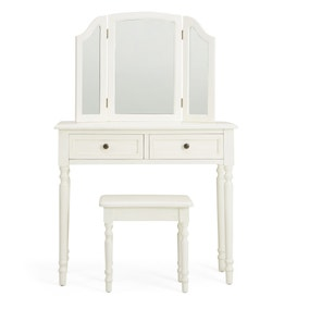Lucy Cane Cream Dressing Table Set