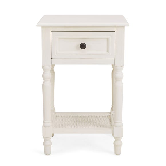 Lucy Cane Cream Nightstand
