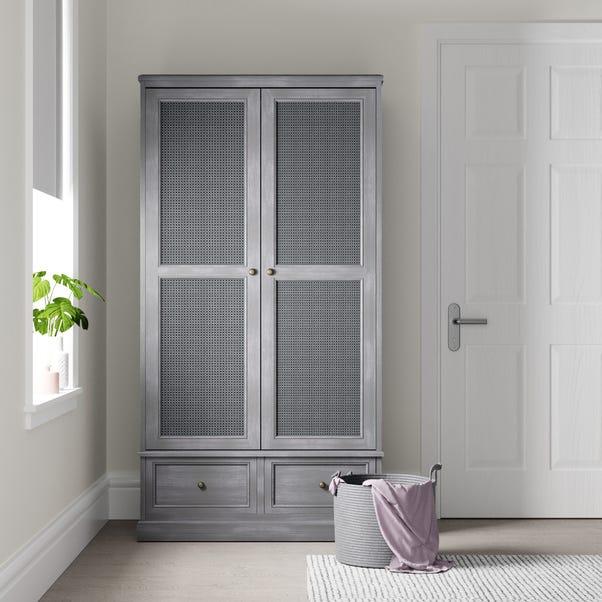 Lucy Cane Grey Gents Wardrobe Slate (Grey)