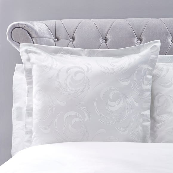 5A Fifth Avenue Tallulah White Continental Square Pillowcase White