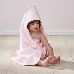 Pack of 2 Pink Hooded Towels
