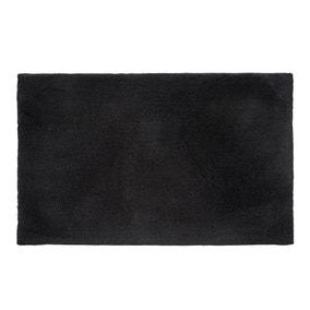 5A Fifth Avenue Cotton Modal Black Bath Mat