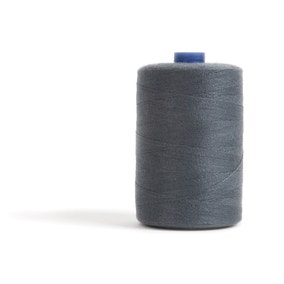 Sewing and Overlocking Dark Grey 1000m Thread