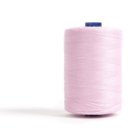 Sewing and Overlocking Pink 1000m Thread Pink