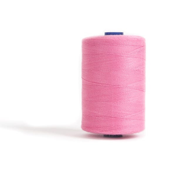 Sewing and Overlocking Rose Pink 1000m Thread