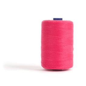 Sewing and Overlocking Hot Pink 1000m Thread