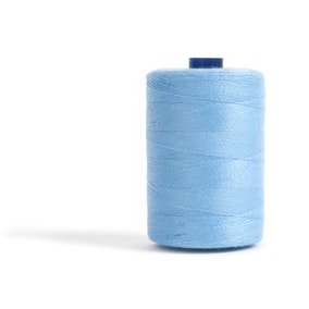 Sewing and Overlocking Sky Blue 1000m Thread