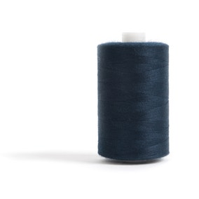 Sewing and Overlocking Dark Navy 1000m Thread