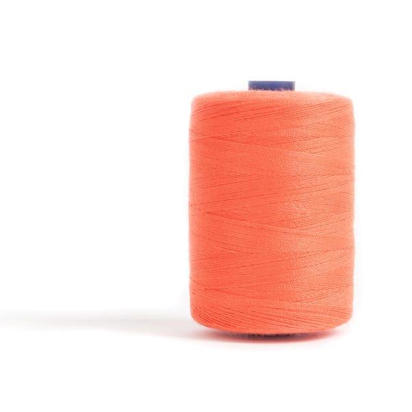 Sewing and Overlocking Orange 1000m Thread