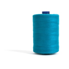 Sewing and Overlocking Teal 1000m Thread