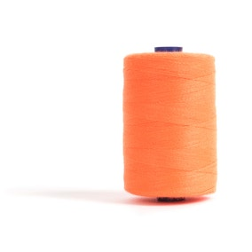 Sewing and Overlocking Fluorescent Orange 1000m Thread