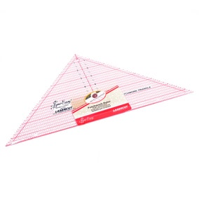 90 Degree Triangle Quilting Rule